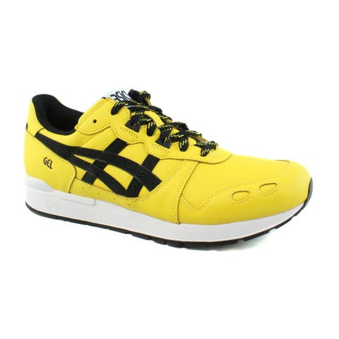 pretty nice 1cba0 07491 ASICS Mens Gel-Lyte Tai Chi Yellow Performance Black Running Casual Shoes