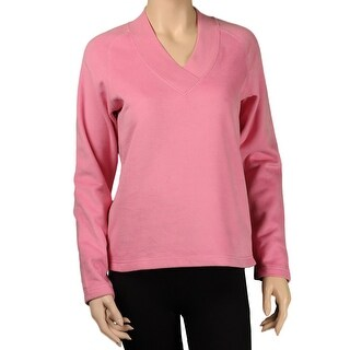 Gear For Sports Misses Luxe Fleece V-Neck