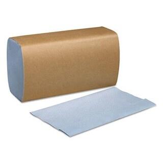 SCA Tissue SCA 1-Ply Tork Windshield Towel, Blue - 9.125 x 10.25
