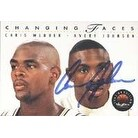 Avery Johnson Golden State Warriors 1994 Skybox Changing Faces Autographed Card This item comes with a certificate of