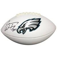 bb6300e61e5 Carson Wentz Signed Autographed Philadelphia Eagles Logo Football Fanatics