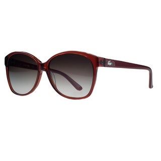 Lacoste L701/S 615 Red Rectangle Sunglasses - 56-14-135