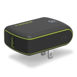 PureGear Extreme USB Wall Charger with Qualcomm Quick Charge 3.0 - Black