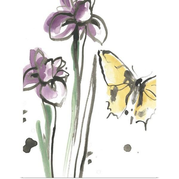 """Ink Wash Garden IV"" Poster Print"
