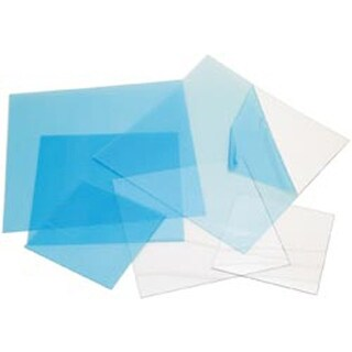 "Clear .020 - Craft Plastic Sheets 12""X12"" 25/Pkg"