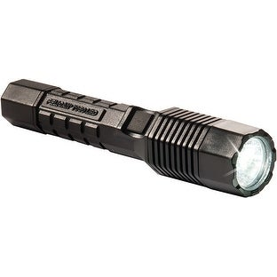 Pelican 7060B Tactical Rechargeable LED Flashlight with 120V Charger, Black