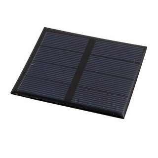 82mm x 70mm 0.6 Watts 2 Volts Polycrystalline Solar Cell Panel Module