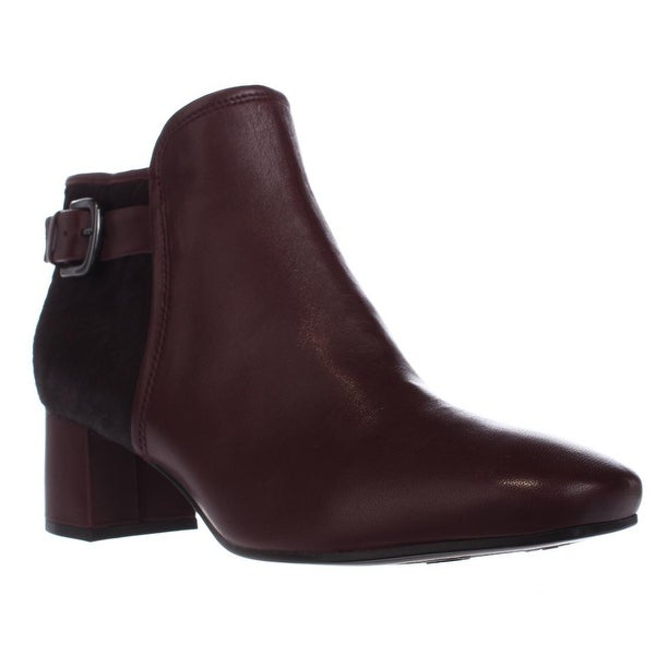 naturalizer Nailah Turlock Ankle Boots, Wine