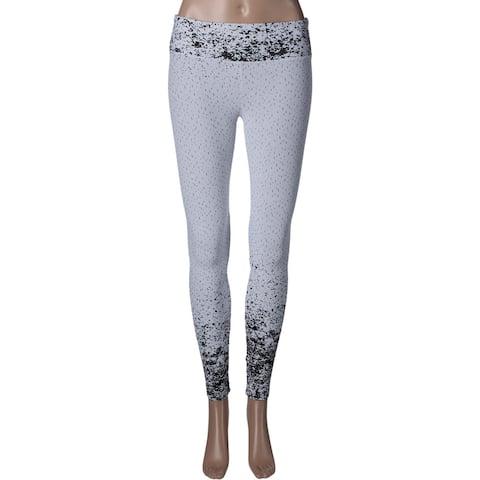 Koral Womens Leggings Textured Printed