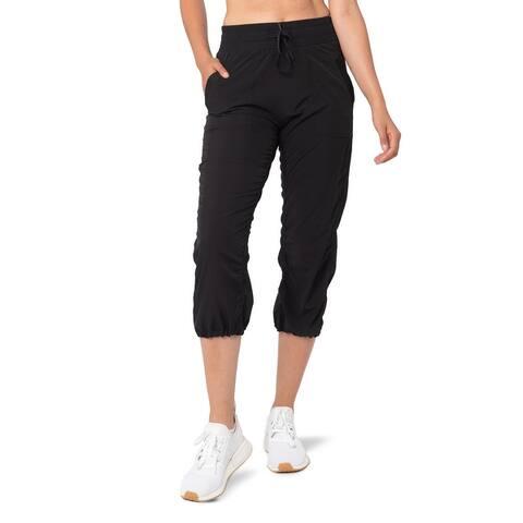 Womens Excursion Woven Crop Pants