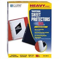 C-Line Products  Traditional Polypropylene Sheet Protector
