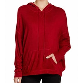 Sweet Romeo NEW Red Women's Size Small S Hooded Pullover Sweater