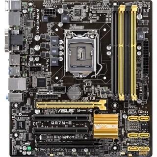 Asus Q87M-E CSM SI Asus Q87M-E/CSM Desktop Motherboard - Intel Q87 Express Chipset - Socket H3 LGA-1150 - Bulk Pack - Micro ATX