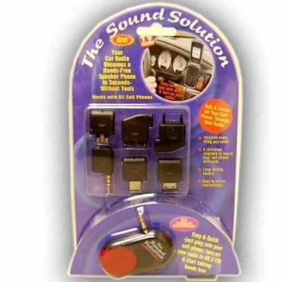 Sound Solution Radio to Speaker Phone Converter