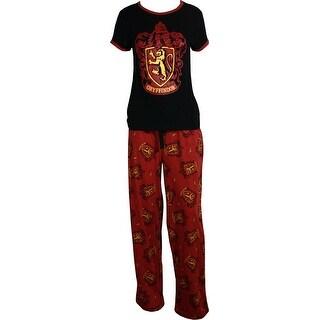 Harry Potter Team Gryffindor Pajama Set
