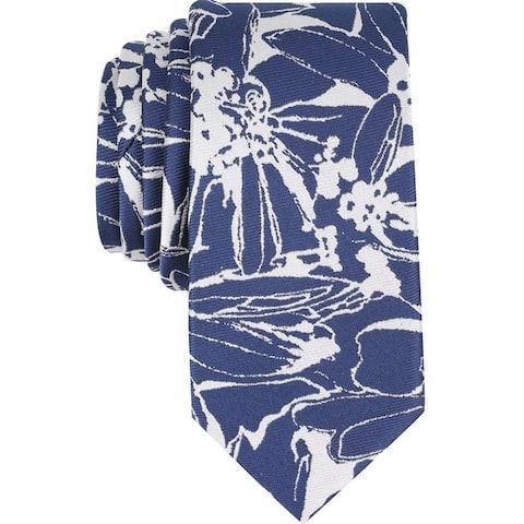 Bar Iii Mens Totness Floral Self-Tied Necktie - One Size