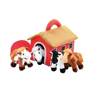 Talking Horse Friends - Plush Stuffed Animal Set With Soft Carrying Case