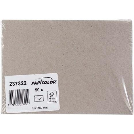 Kraft Grey - Papicolor A6 Envelopes 50/Pkg