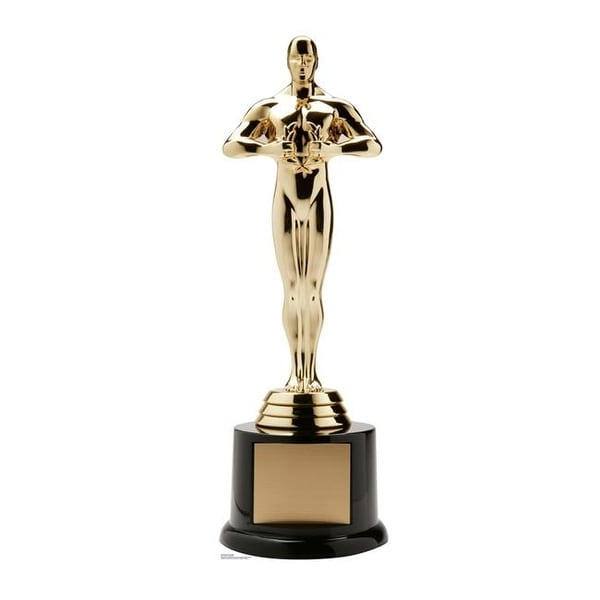 88 x 28 in. Trophy Award Standup with Base Cardboard Standup
