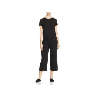 Eileen Fisher Womens Jumpsuit Short Sleeves Pull On