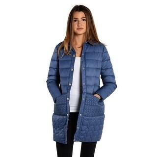 Save The Duck Lightweight Women's 3/4 Jacket In Blue