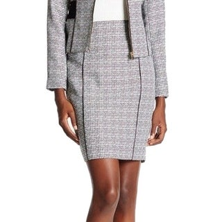 Calvin Klein NEW Gray Women's Size 6P Petite Straight Pencil Skirt
