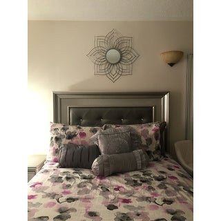 Oakley Floral Wall Mirror by Christopher Knight Home