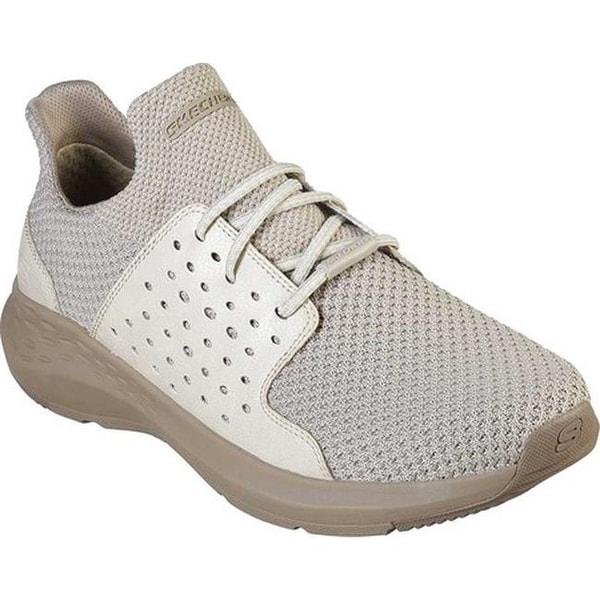 770bf59ce24f Shop Skechers Men's Relaxed Fit Parson Todrick Slip-On Sneaker Beige ...