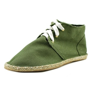 Qupid Mermosa-20B Women Round Toe Canvas Chukka Boot
