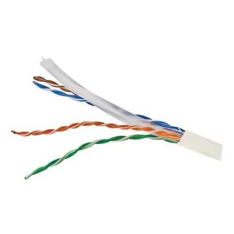 Vericom mbw6u-01444 cat-6 utp solid riser cmr cable, 1,000ft (white)