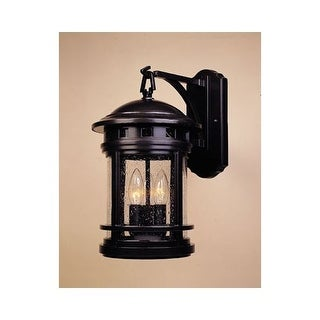 """Designers Fountain 2381-ORB 3 Light 9"""" Cast Aluminum Wall Lantern from the Sedona Collection"""