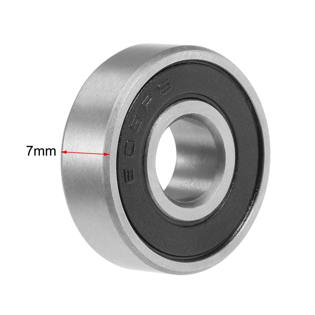 8x22x7mm 100 PCS Single-row radial ball bearing HOT!!! 608RS Rolling Bearings