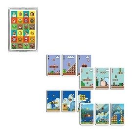 Nintendo Super Mario Game Stage Playing Cards