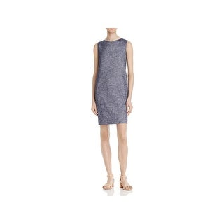 Theory Womens Narlica Wear to Work Dress Chambray Office Wear