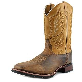 Laredo Men 11 Men W Square Toe Leather Tan Western Boot