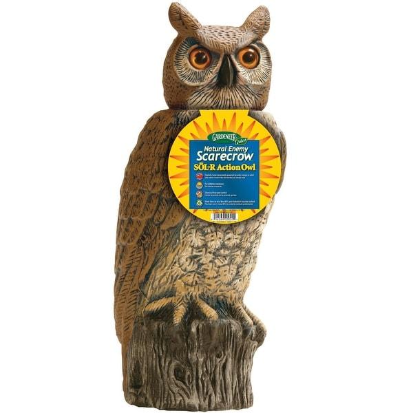 Dalen SRHO4 Garden Defense Solar Action Owl 18 Free Shipping On