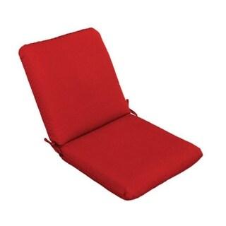 """Casual Cushion Corp 310-1427 High Back Chair Cushion, Red, 44"""""""