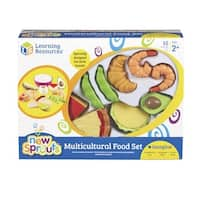 Learning Resources Multi-Ethnic Food Set, 15 Pieces