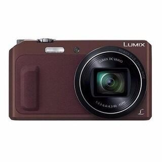 Panasonic Lumix DMC-ZS45 Digital Camera Teal/Brow