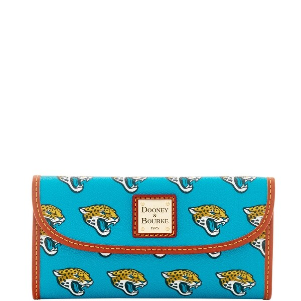 Dooney & Bourke NFL Jacksonville Jaguars Continental Clutch (Introduced by Dooney & Bourke at $128 in Aug 2016)