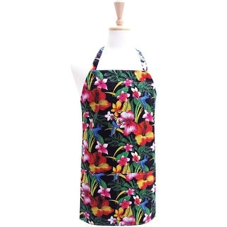 Two Lumps Of Sugar Adult Utility Apron-Hibiscus