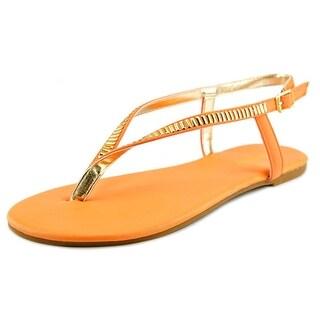 Bamboo Sequoia-89 Women Open-Toe Synthetic Slingback Sandal