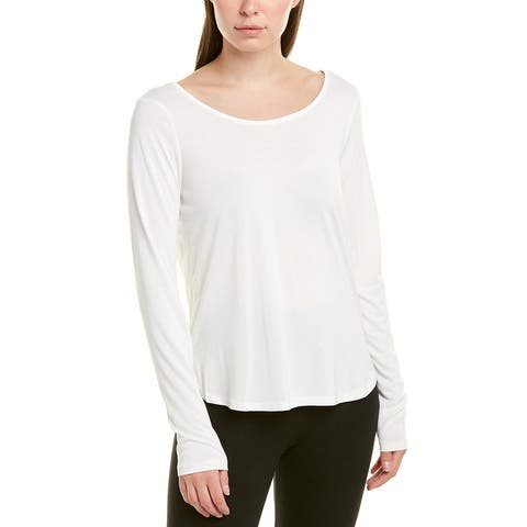 Betsey Johnson Strappy Back T-Shirt