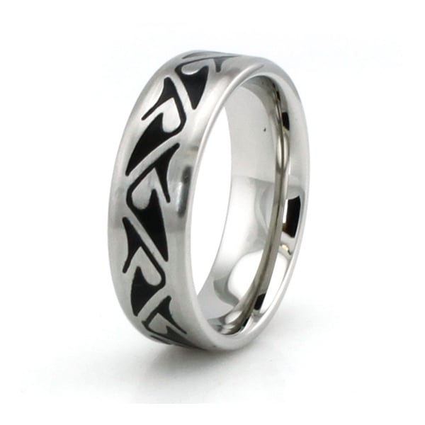 Stainless Steel Shark Fin Design Ring