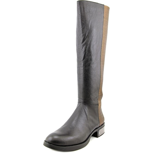 Circus by Sam Edelman Roxie Women  Round Toe Leather Black Knee High Boot