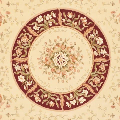 Safavieh Handmade French Tapis Raina Shabby Chic Oriental Wool Rug