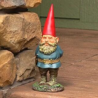 Sunnydaze Gus the Original Gnome - Small Lawn and Garden Decor - 9.5-Inch - Gus 9.5 Inch