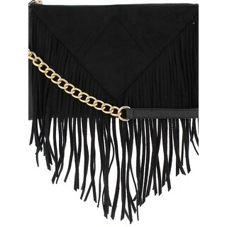 Steve Madden Womens Porter Crossbody Handbag Leather Texturized - MEDIUM