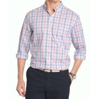 IZOD NEW Blue Pink Mens Size 2XL Non-Iron Plaid Button Down Shirt|https://ak1.ostkcdn.com/images/products/is/images/direct/515417f6d5b6c6e3eb761d3b9487253df1d3359c/IZOD-NEW-Blue-Pink-Mens-Size-2XL-Non-Iron-Plaid-Button-Down-Shirt.jpg?impolicy=medium