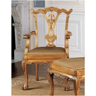 Design Toscano English Chippendale Armchair
